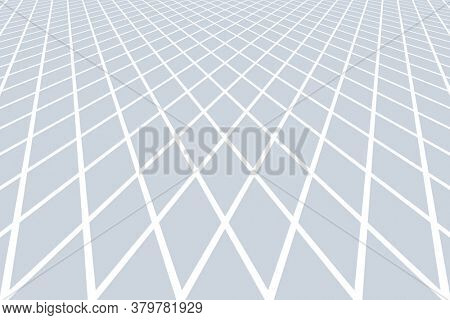 Geometric lines pattern in diminishing perspective. Abstract textured background.