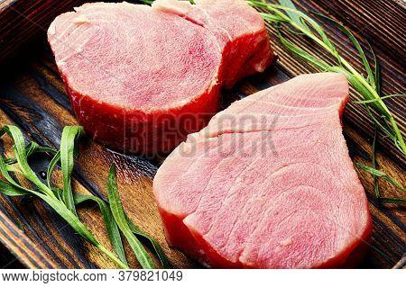 Fresh Tuna Fish Steak