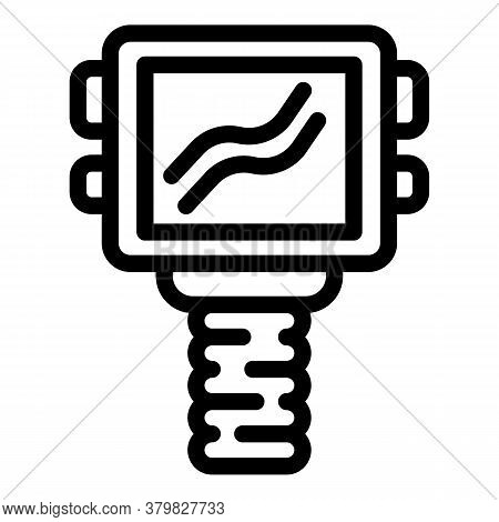 Thermal Imager Device Icon. Outline Thermal Imager Device Vector Icon For Web Design Isolated On Whi