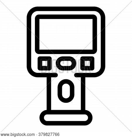 Geodetic Thermal Imager Icon. Outline Geodetic Thermal Imager Vector Icon For Web Design Isolated On