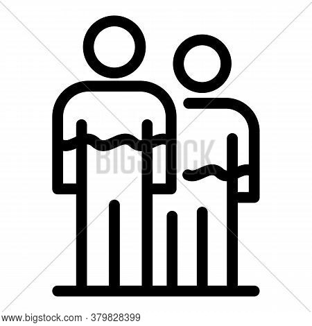 People Hormones Icon. Outline People Hormones Vector Icon For Web Design Isolated On White Backgroun