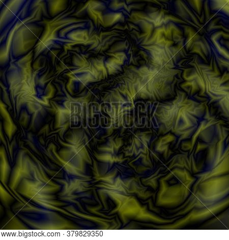 Glitch. Abstract Background. Alien Texture Or Space, Alien Planet. Vector Illustration