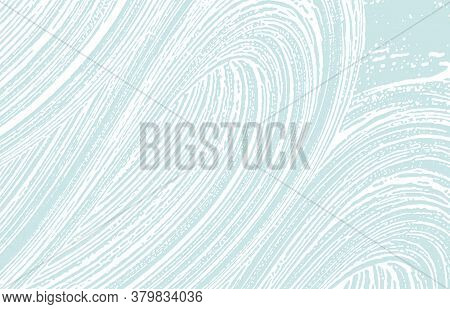 Grunge Texture. Distress Blue Rough Trace. Creative Background. Noise Dirty Grunge Texture. Majestic