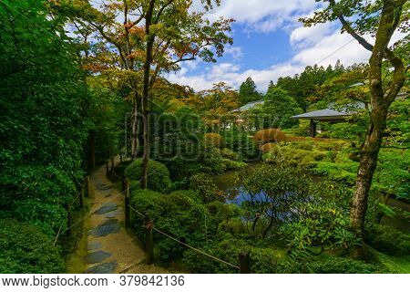 View Of The Shoyo-en Garden, In Nikko, Japan