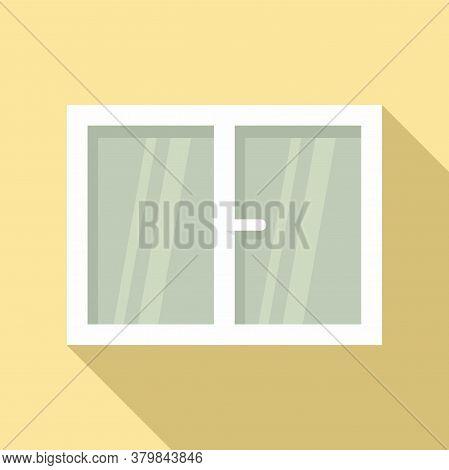 Plastic Window Installation Icon. Flat Illustration Of Plastic Window Installation Vector Icon For W
