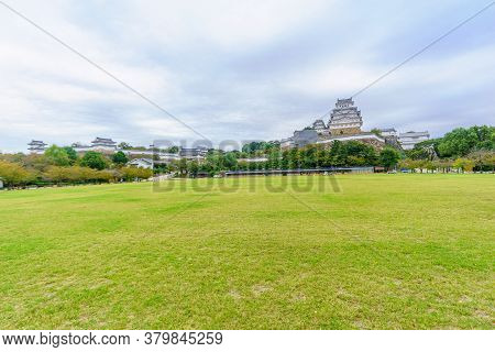 View Of The Himeji Castle, Dated 1333, In The City Of Himeji, Hyogo Prefecture, Japan