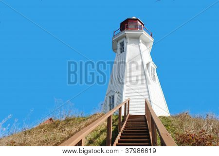 Mullholland Lighthouse, Campobello Island, New Brunswick, Canada