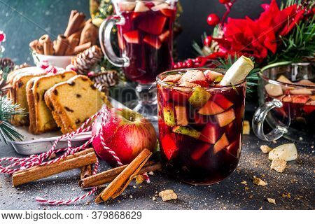Festive Winter Fruit Punch