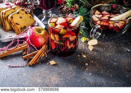 Festive Winter Fruit Punch