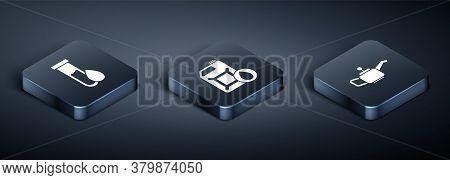 Set Isometric Oil Petrol Test Tube, Canister For Motor Machine Oil And Canister For Motor Machine Oi