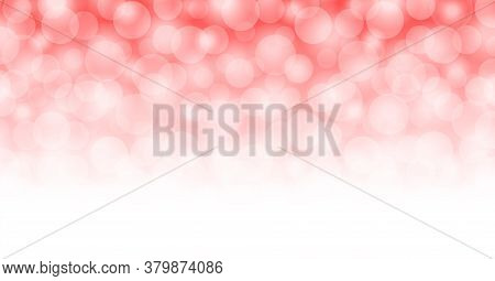 Abstract Red Bokeh For Background, Maroon Red Light With Bokeh Backgrounds Banner Ad, Glowing Red Br