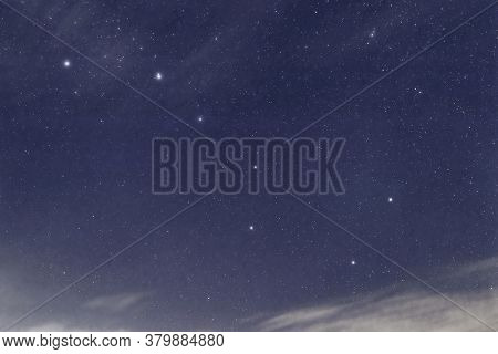 Big Dipper Constellation, Ursa Major, The Great Bear, Beautiful Night Sky