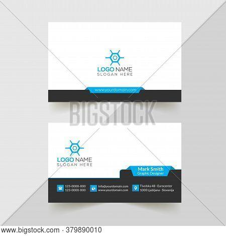 Modern Professional Business Card Template, Simple Business Card,  Business Card Design Template, Corporate Business Card Design, Colorful Business Card Template, Creative Business Card. Editable Business Card, Abstract Business Card