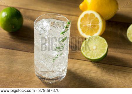 Refreshing Cold Lemon Lime Soda
