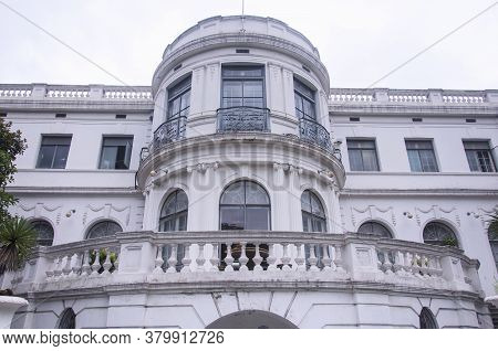 The French Designed Historical Garden Building Of 79 Fenyang Road In The French Concession Area Of P