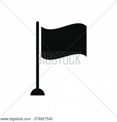 Flag Icon Vector. Flag Icon Illustration On White Background. Simple Icon Flag. Flag Icon Vector Ill