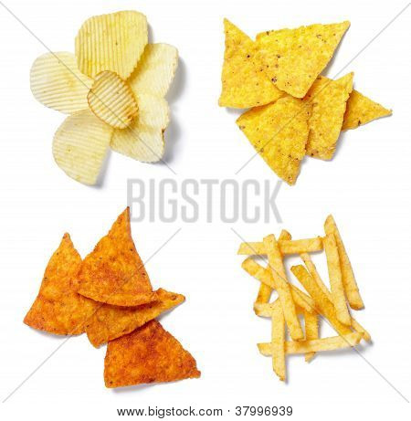 Potato Chips Junk Salted Food