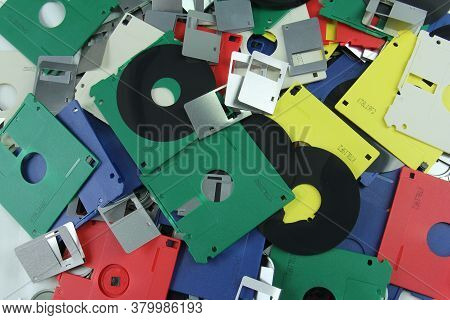 Old Floppy Disks Destroyed For Recycling And Security