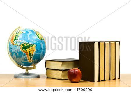 Pile Of Books Of Iyabloko On A Table