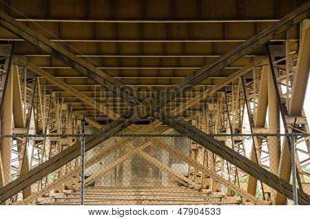 Below A Bridge