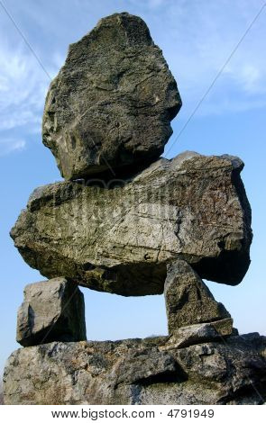 Large Zen Rock Stack