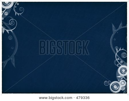 Blue Swirls Background