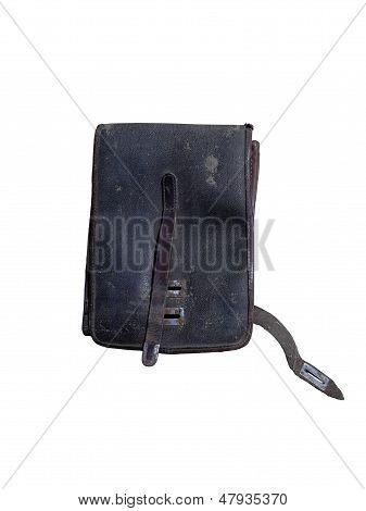 An old school bag