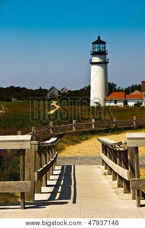 Lighthouse At Truro, Ma