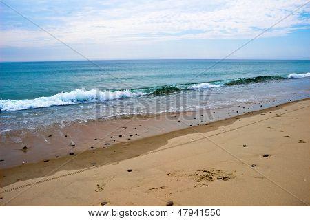 Breaking Waves On Nauset Beach, Ma