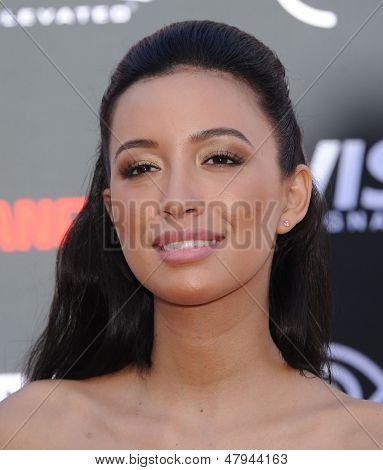 LOS ANGELES - JUN 22:  Christian Serratos arrives to the 'The Lone Ranger' Hollywood Premiere  on June 22, 2013 in Hollywood, CA
