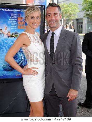 LOS ANGELES - JUN 23:  Jay Harrington & Monica Richards arrives to the