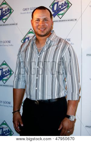 NEW YORK-JULY 14: Detroit Tigers shortstop Jhonny Peralta attends the Aces, Inc. All Star party at Marquee on July 14, 2013 in New York City.