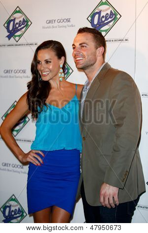NEW YORK-JULY 14: New York Mets third baseman David Wright attends the Aces, Inc. All Star party at Marquee on July 14, 2013 in New York City.