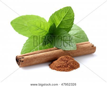 Mint with cinnamon