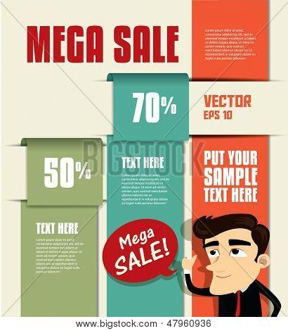 Sale Promotion Design Template