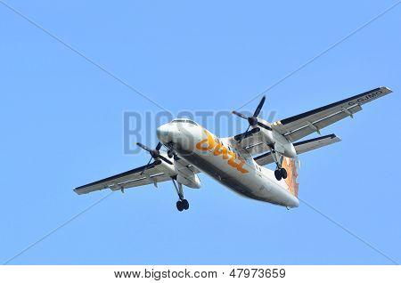 Air Canada Jazz Flight Taking Off
