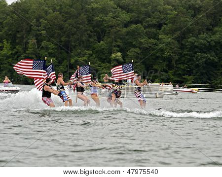 Fourth Of July On The Lake
