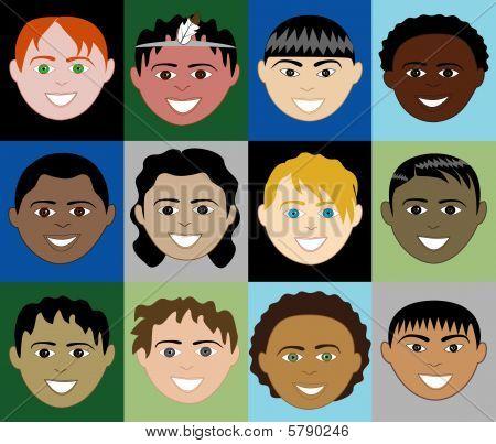 Boysfaces