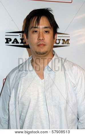 Joseph Hahn  at the Grand Reopening of The Hollywood Palladium. Hollywood Palladium, Hollywood, CA. 10-15-08