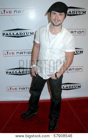 Freddy Rodriguez  at the Grand Reopening of The Hollywood Palladium. Hollywood Palladium, Hollywood, CA. 10-15-08