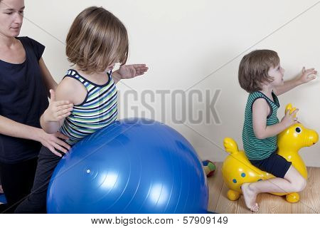 Ball Therapy With Children