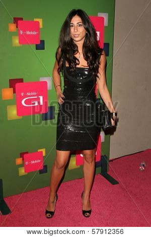 Courtenay Semel  at the T-Mobile G1 Launch Party. Siren Studios, Hollywood, CA. 10-17-08
