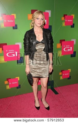Brittany Snow  at the T-Mobile G1 Launch Party. Siren Studios, Hollywood, CA. 10-17-08