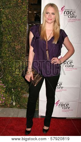 Leven Rambin  at A Night of Shopping at Mulberry for a Good Cause benefitting Susan G. Komen For The Cure, Mulberry, Los Angeles, CA. 10-21-08