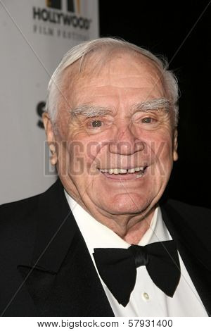 Ernest Borgnine  at the 12th Annual Hollywood Film Festival's Hollywood Awards Gala. Beverly Hilton Hotel, Beverly Hills, CA. 10-28-08