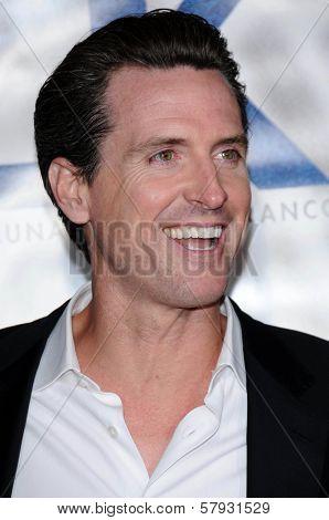 Gavin Newsom  at the Focus Features World Premiere of MILK, The Castro Theatre, San Francisco, CA. 10-28-08