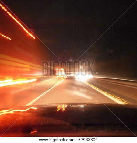 Blinding Motorway Lights