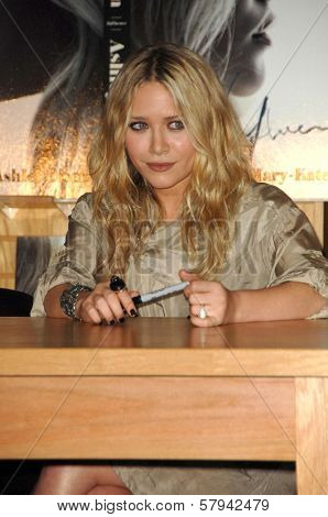 Ashley Olsen  at an in store appearance to sign copies of the new book 'Influence'. Borders Books and Music, Westwood, CA. 11-12-08