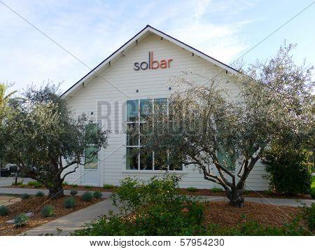 Solbar restaurant at Solage Calistoga Resort in Calistoga, California