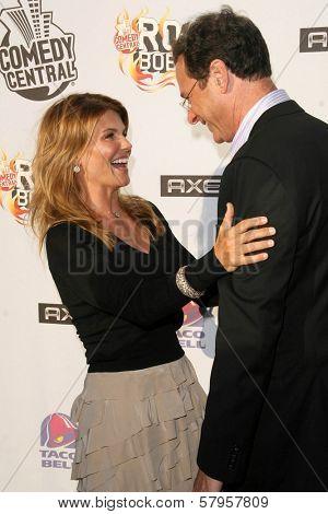 Lori Loughlin and Bob Saget  at the
